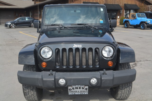 Used 2011 Jeep Wrangler Unlimited Sahara SUV for sale in Geneva NY