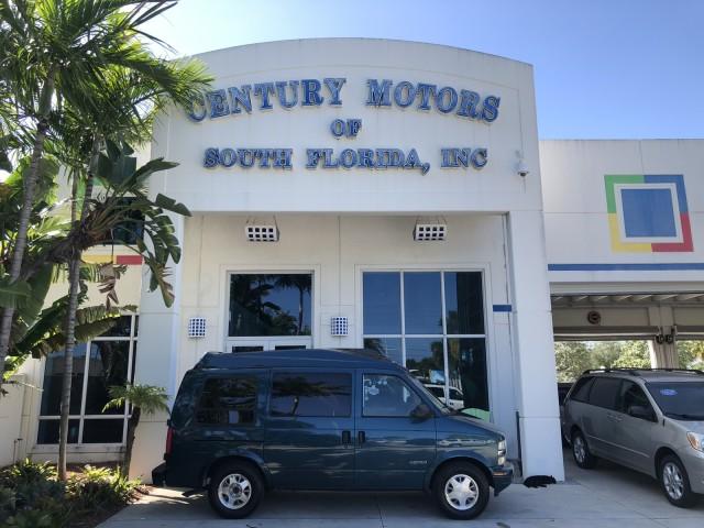 2000 Chevrolet Astro Cargo Van w/YF7 Hightop Conversion Van Rear Folding Bed in pompano beach, Florida