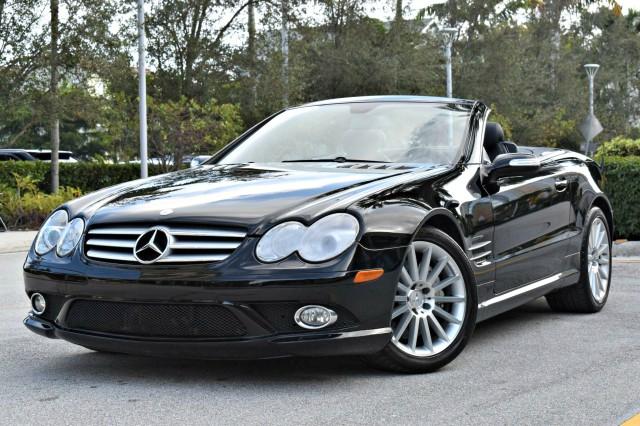 2008 Mercedes-Benz SL550 V8 in West Palm Beach, Florida