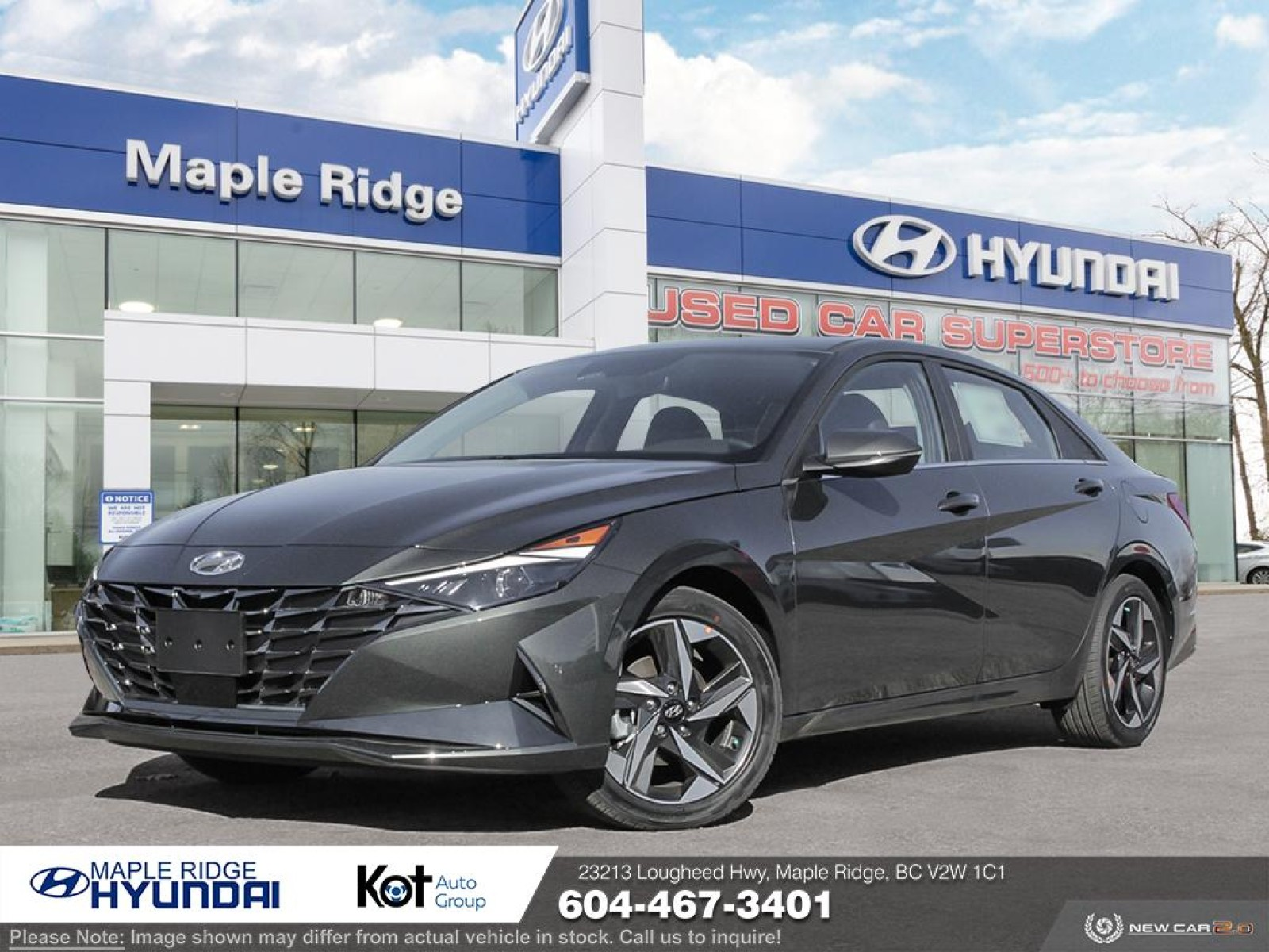 New 2021 Hyundai Elantra Ultimate IVT