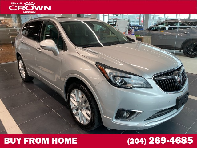 Pre-Owned 2019 Buick Envision AWD 4dr Premium II **Heated Steering / Navigation / Blind Spot**
