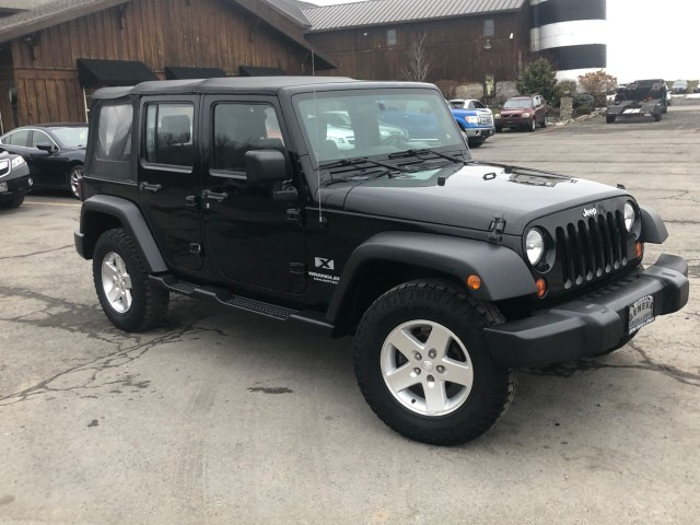 Used 2009 Jeep Wrangler Unlimited X SUV for sale in Geneva NY