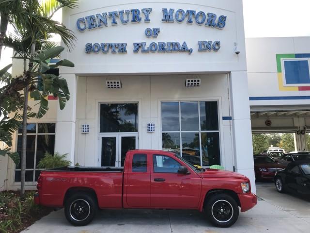 2008 Dodge Dakota Sport Leather Seats 4x4 Tow Package Hitch Bluetooth in pompano beach, Florida