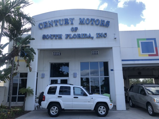 2003 Jeep Liberty Limited Leather Sunroof CD Cassette in pompano beach, Florida