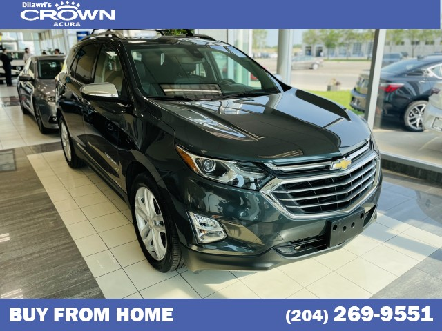 Pre-Owned 2018 Chevrolet Equinox AWD Premier w/2LZ *360 Backup Camera / Heated and Cooled Seats*