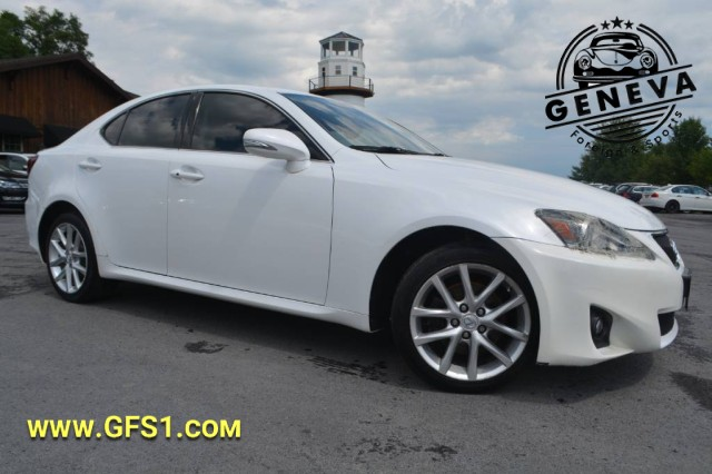 Used 2011 Lexus IS 250  Sedan for sale in Geneva NY