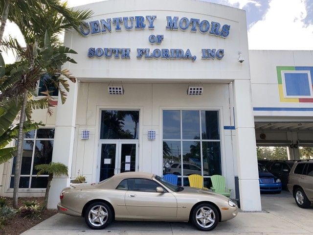 1998 Jaguar XK8 v8, VERY low miles, power convertible top, leather, 2 owner in pompano beach, Florida