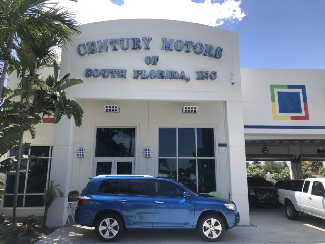 2008 Toyota Highlander 3RD ROW Limited 23 SERVICE RECORDS in pompano beach, Florida
