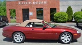 2000 Jaguar XK8  in Wiscasset, ME