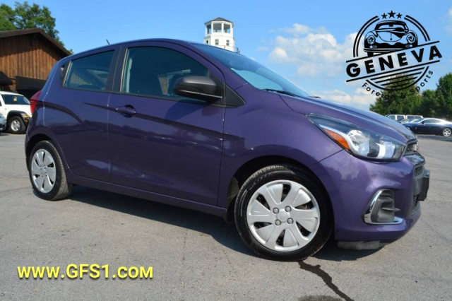 Used 2017 Chevrolet Spark LS Hatchback for sale in Geneva NY