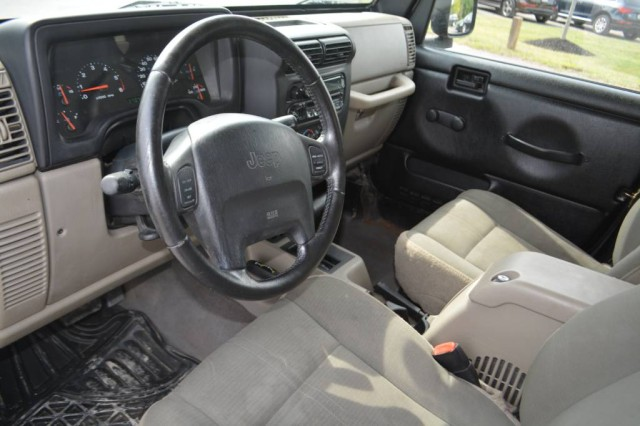 Used 2003 Jeep Wrangler Sahara SUV for sale in Geneva NY