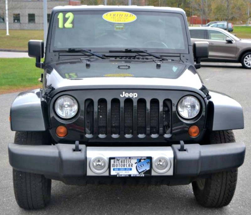 2012 Jeep Wrangler Unlimited Sahara in Wiscasset, ME