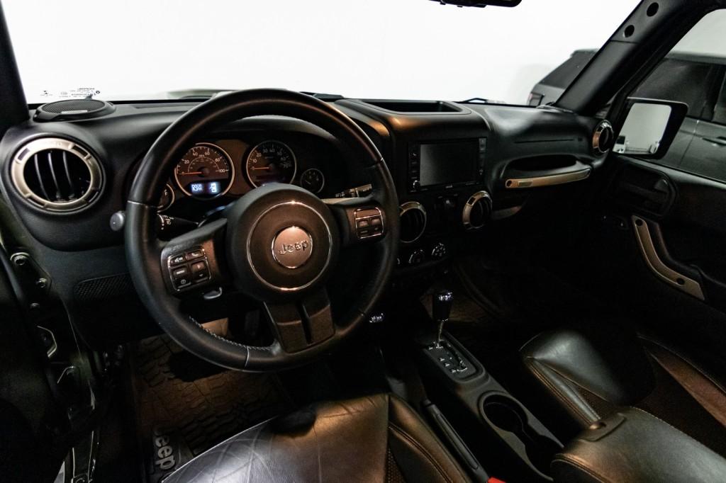 Pre-Owned 2016 Jeep Wrangler 75TH ANNIVERSARY MODEL New Lift Method Wheels 35 Tires Leather NAV