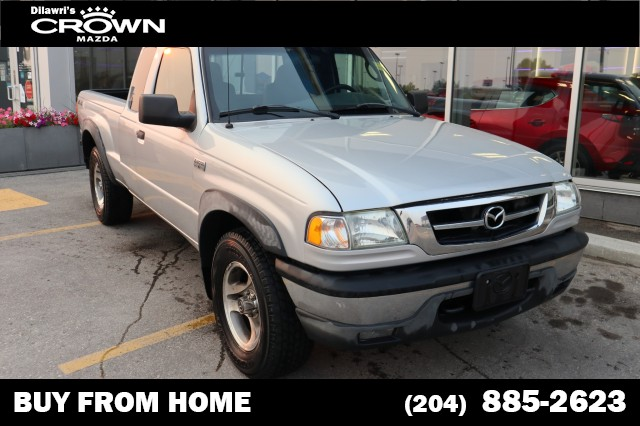 Pre-Owned 2009 Mazda B-Series Pickup SE 4x4 Manual **Low KM/From British Columbia**