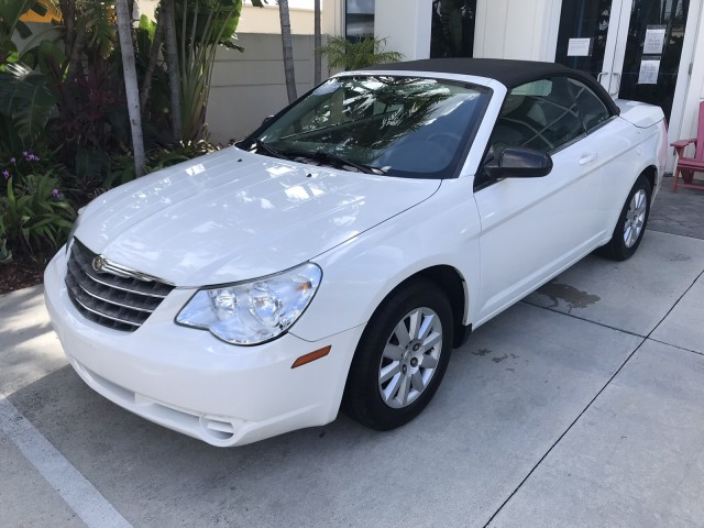 2008 Chrysler Sebring LX Cloth Seats Power Top CD A/C AUX Cruise in pompano beach, Florida
