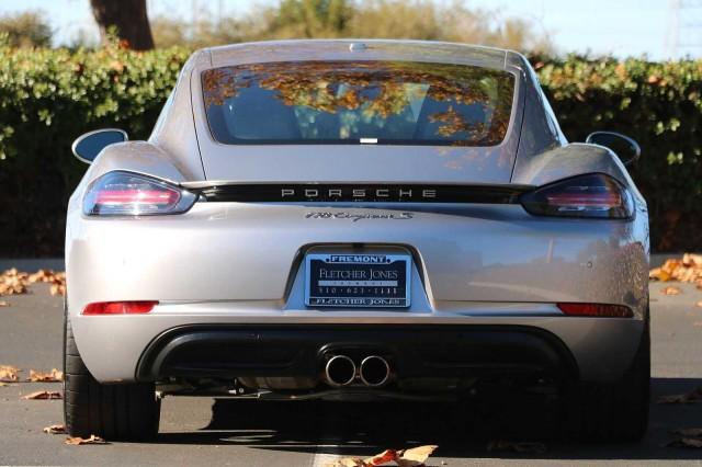 Pre-Owned 2019 Porsche 718 Cayman S