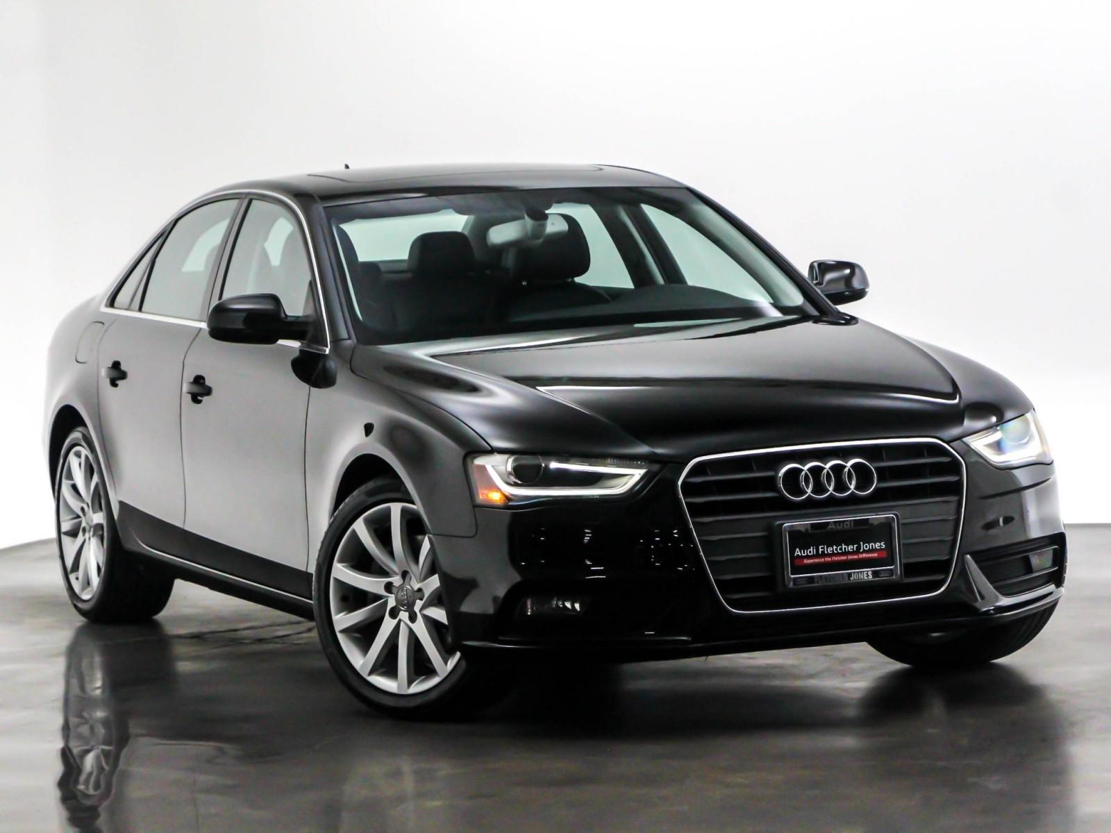 Pre-Owned 2013 Audi A4 Premium Plus