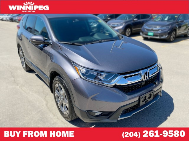 Certified Pre-Owned 2018 Honda CR-V EX / Certified / Bluetooth / Remote start / 7 year warranty