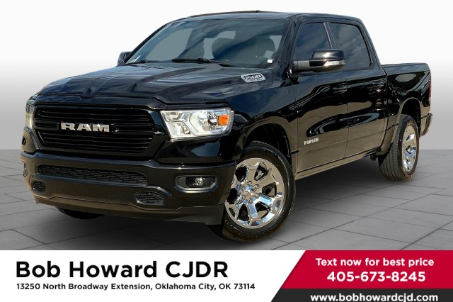 Certified Pre-Owned 2020 Ram 1500 Big Horn 8.4 Display Screen-Apple CarPlay-Android Auto