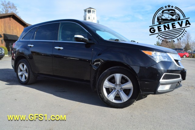 Used 2011 Acura MDX Tech/Entertainment Pkg SUV for sale in Geneva NY
