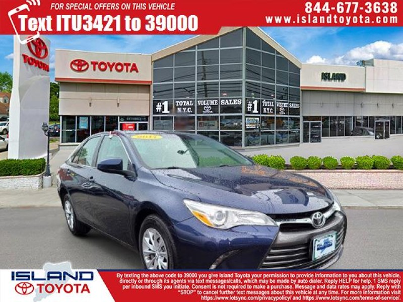 Certified Pre-Owned 2017 Toyota Camry LE Auto (Natl) Sedan Front Wheel Drive