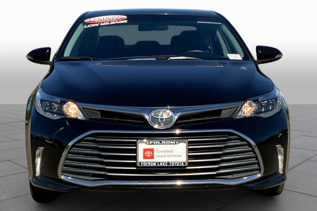 Certified Pre-Owned 2016 Toyota Avalon XLE *Super low miles, Toyota Certified Factory Warranty, Dual heated leather power seats, Entune Audio Plus, Keyless start, Backup camera, Toyota Certified Factory Warranty, CD player, Bluetooth handsfree technology, Alloy wheels