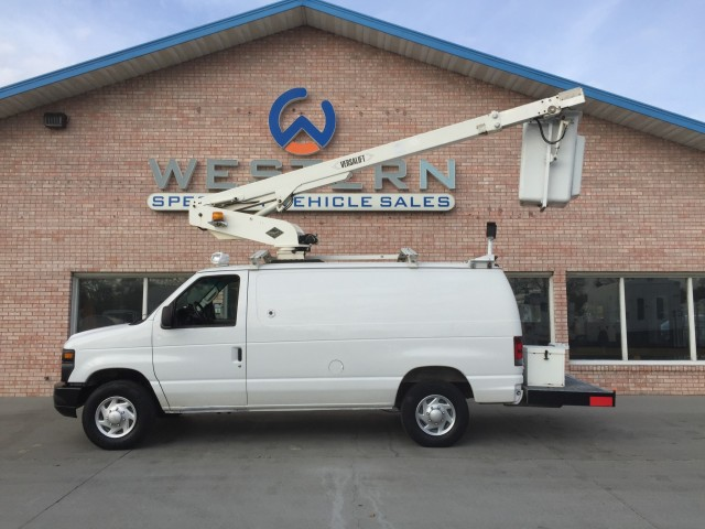 2008 Ford E350 Bucket Van