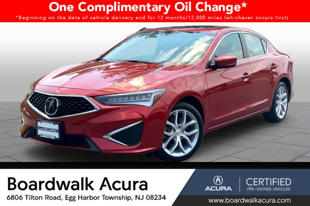 Certified Pre-Owned 2020 Acura ILX Base
