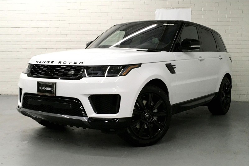 New 2021 Land Rover Range Rover Sport HSE Silver Edition