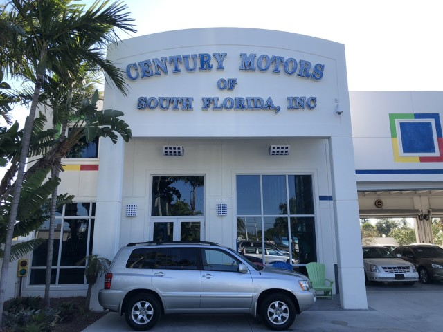 2002 Toyota Highlander Limited AWD NON SMOKERS in pompano beach, Florida