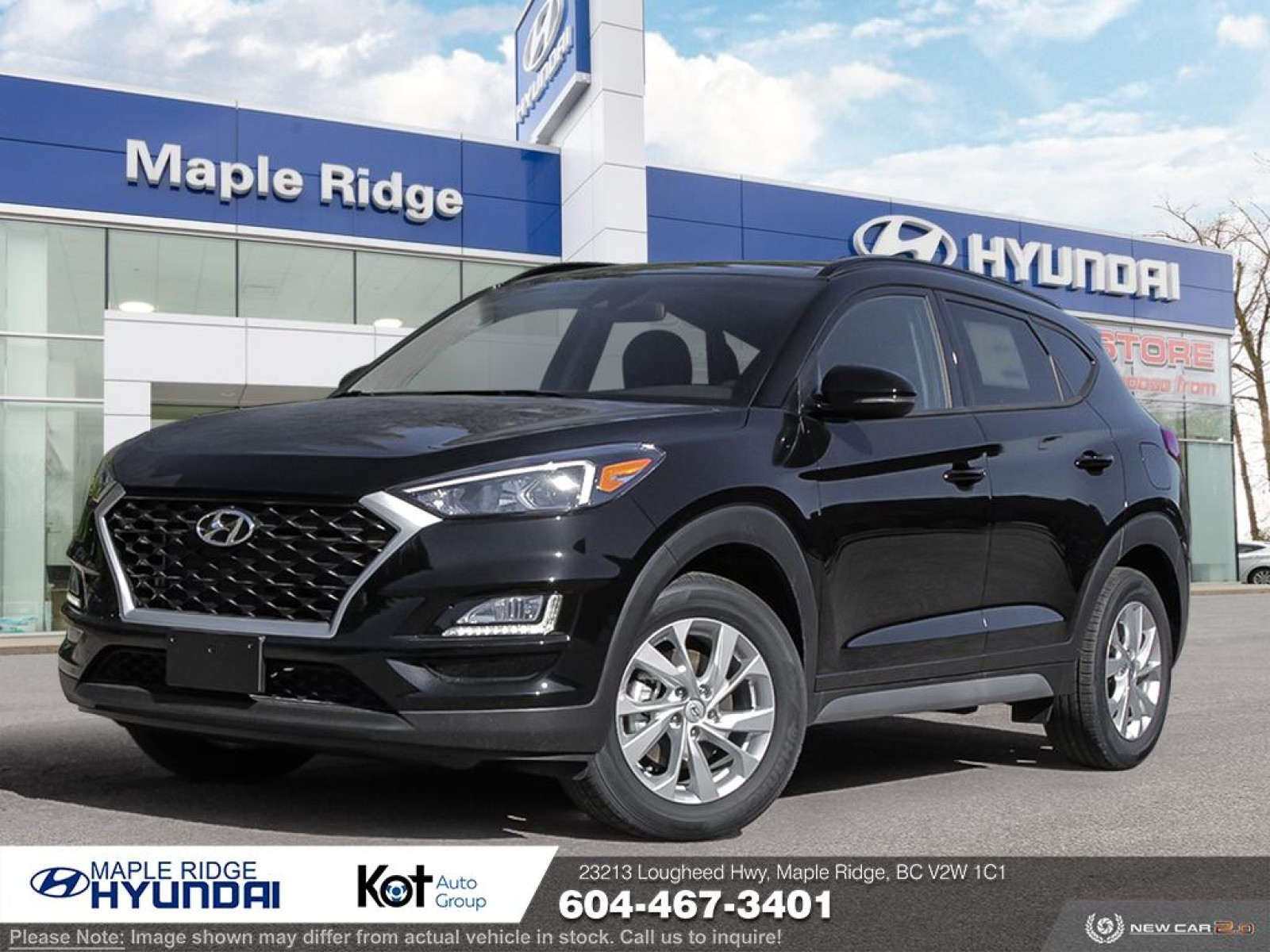 New 2021 Hyundai Tucson Preferred AWD w/Sun & Leather Package