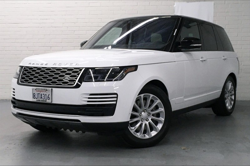 Certified Pre-Owned 2019 Land Rover Range Rover HSE