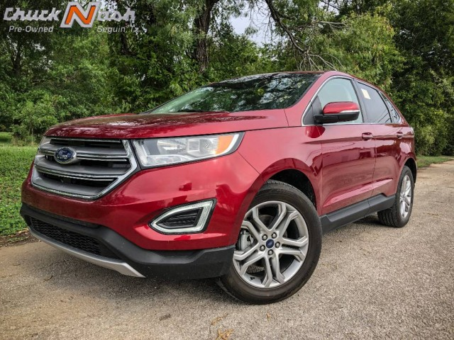 Pre-Owned 2017 Ford Edge Titanium Front Wheel Drive SUV