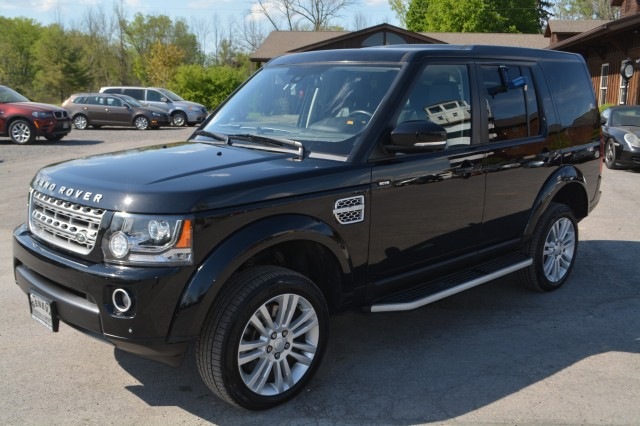 Used 2015 Land Rover LR4 LUX SUV for sale in Geneva NY