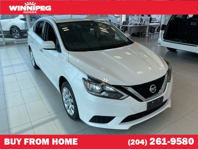 Pre-Owned 2019 Nissan Sentra SV / Bluetooth / Heated seats / Rear view camera