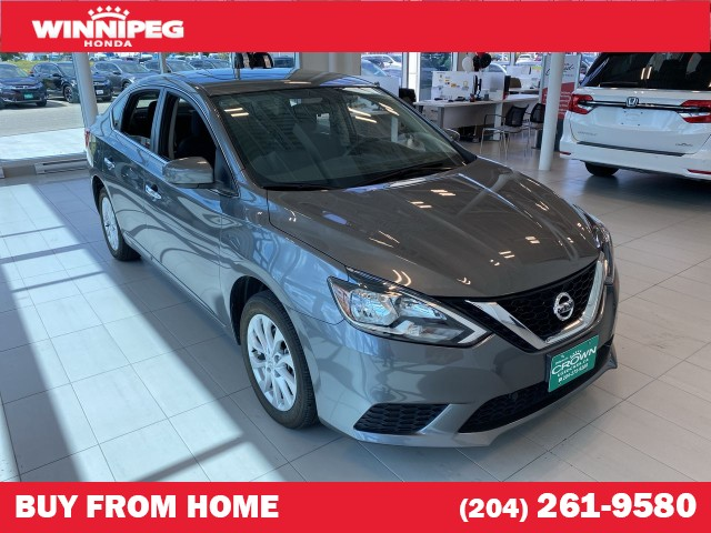 Pre-Owned 2018 Nissan Sentra SV / Heated seats / Bluetooth / Rear view camera / Sunroof
