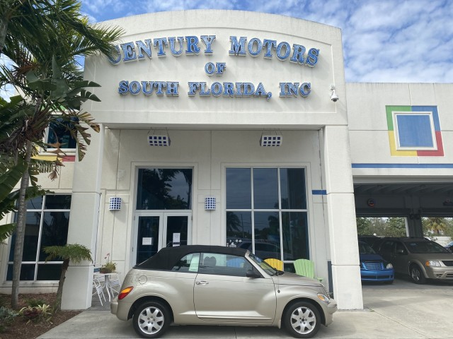 2005 Chrysler PT Cruiser, power top convertible, low miles, fresh paint, no accident in pompano beach, Florida