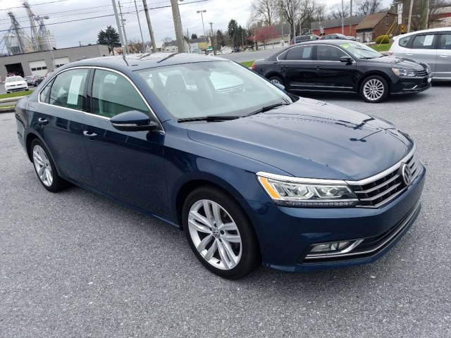 2018 Volkswagen Passat 2.0T SE w-Technology Sedan