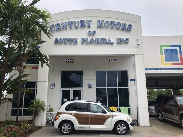 2002 Chrysler PT Cruiser Limited WOODY Leather Suede Sunroof in pompano beach, Florida