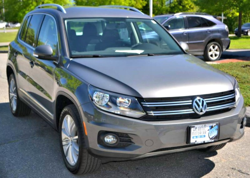2014 Volkswagen Tiguan SE in Wiscasset, ME