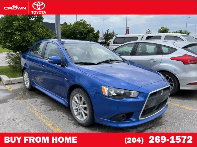 Pre-Owned 2015 Mitsubishi Lancer   Local Trade   One Owner   SE FWD