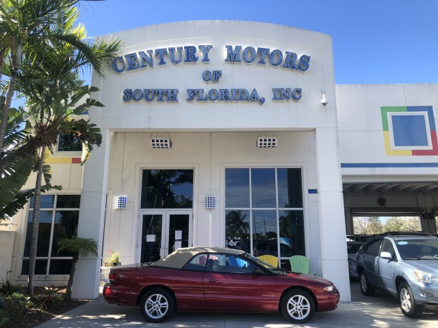 1996 Chrysler Sebring Conv JXi lEATHER LOW MILES in pompano beach, Florida