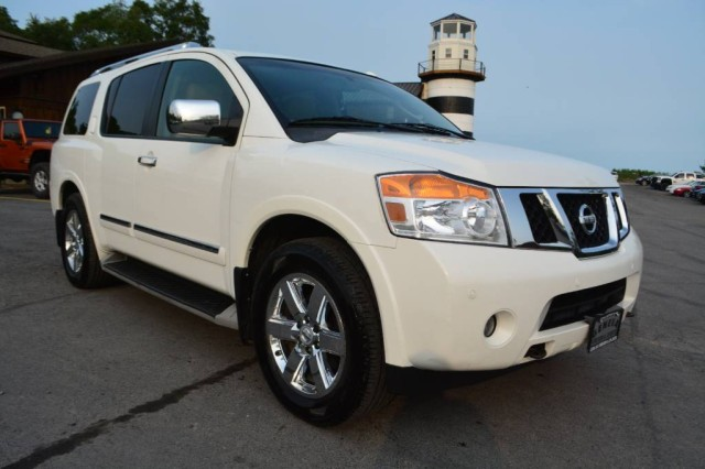 Used 2011 Nissan Armada SL W/3rd Row &Navi SUV for sale in Geneva NY