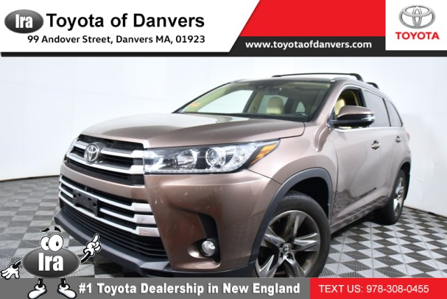 Certified Pre-Owned 2017 Toyota Highlander Limited Platinum
