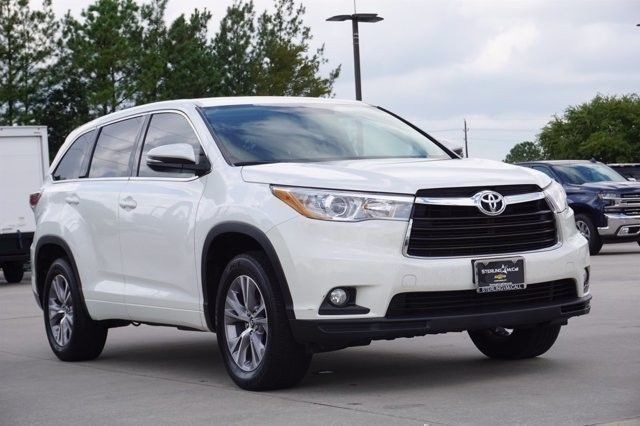 Pre Owned 2016 Toyota Highlander Le Suv In Houston Gs170109 Sterling Mccall Toyota