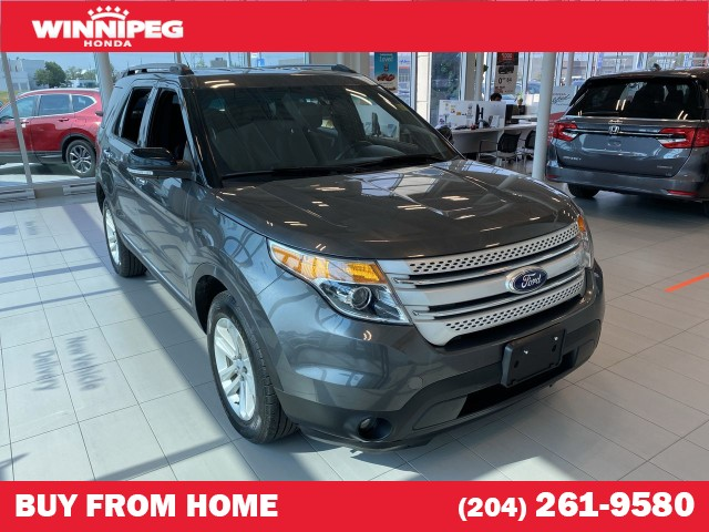 Pre-Owned 2015 Ford Explorer 4WD / XLT / Bluetooth / 7 passenger