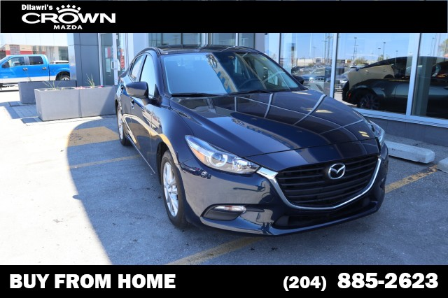 Pre-Owned 2017 Mazda3 GS **UNLIMITED KM WARRANTY/TEST DRIVE FROM HOME**