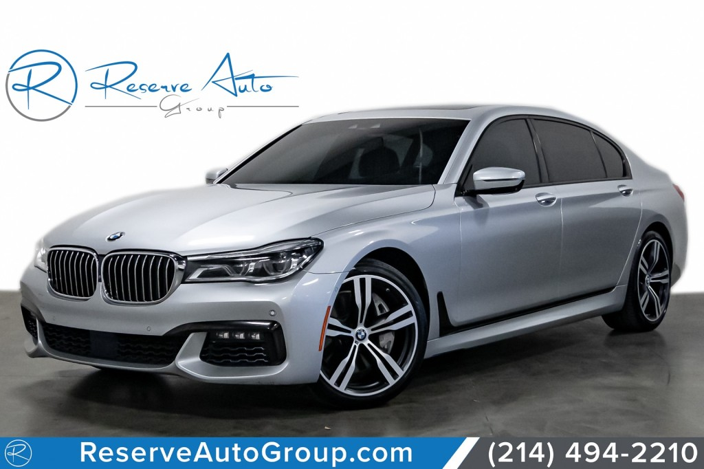 Pre-Owned 2017 BMW 7 Series 750i M-Sport PKG ExecPKG DriveAssist LuxRearSeating
