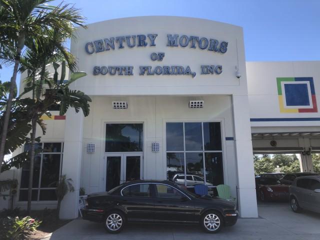 2003 Jaguar X-TYPE FL SALT FREE 2.5L Auto LOW MILES 57,854 in pompano beach, Florida