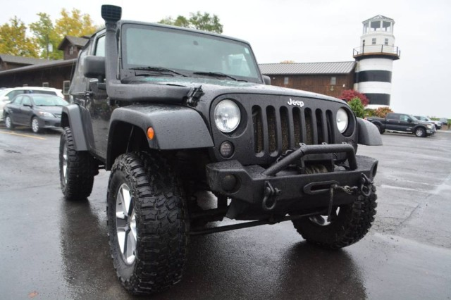 Used 2008 Jeep Wrangler Rubicon SUV for sale in Geneva NY